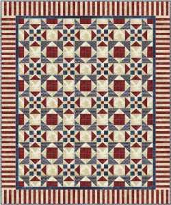 Celine Perkins's block as a quilt