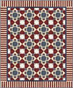 Theresa Eisinger's block as a quilt
