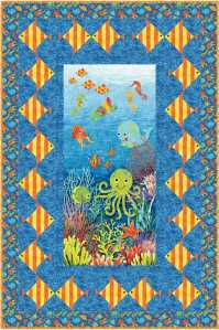 Under the Sea for Quilt Trends Summer 2013