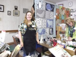 Christina of NeedleWorks with my Polar Opposites pattern
