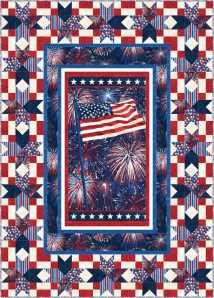 Celebration panel quilt
