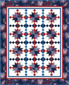 Celebration on-point quilt