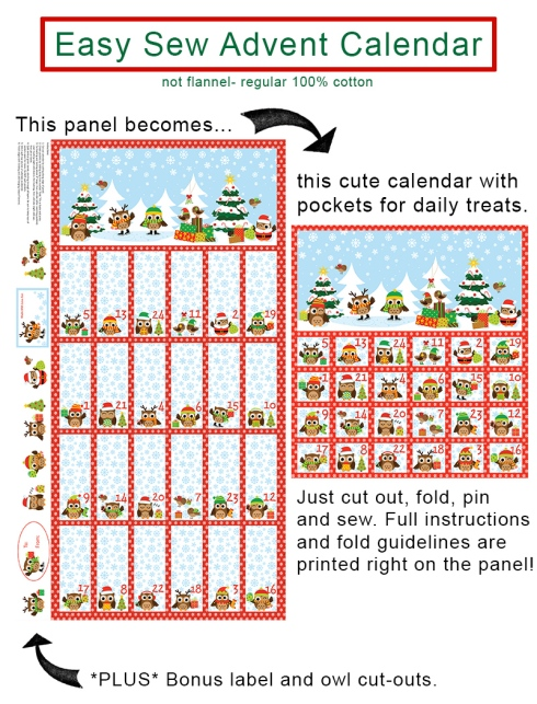 Holiday Hoot advent calendar