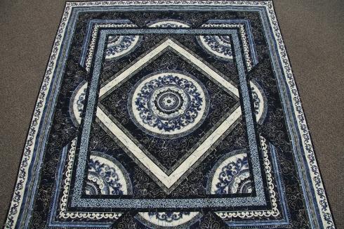 Florentine Floor twin-size quilt