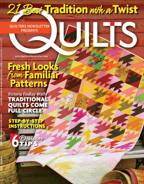 Cover of Tradition with a Twist by Quilter's Newsletter