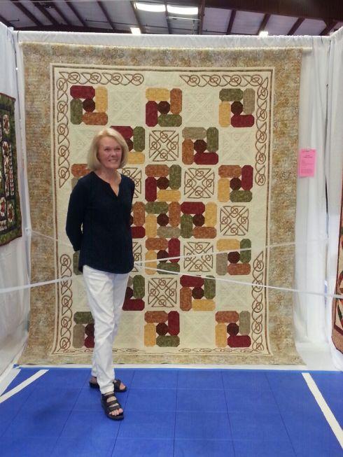 Celtic Cobblestones quilt