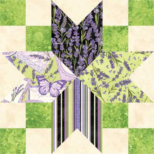 original Lavender Lattice #856