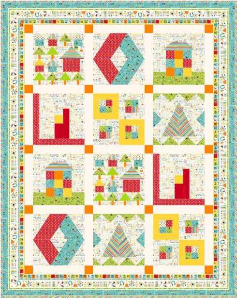 Quilt #1 - all 6 blocks