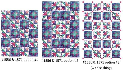 1556 & 1571 straight-set options