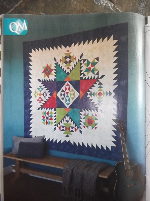 Scott Flanagan's innovative Carnival sampler quilt