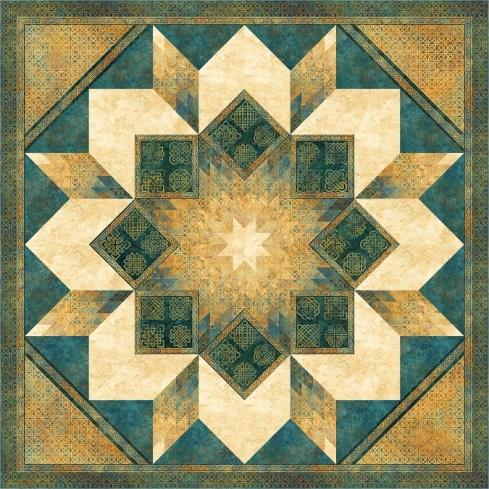 upcoming Stonehenge Solstice Star pattern