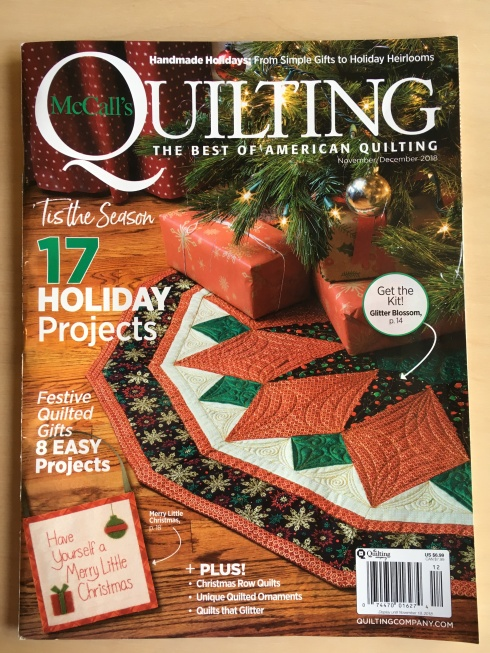 McCalls Quilting November-December 2018 cover