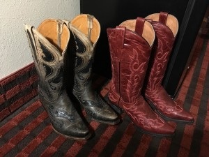 Two new pair of boots