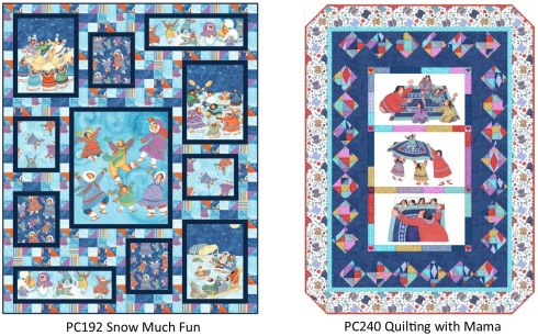PC192 Snow Much Fun & PC240 Quilting with Mama