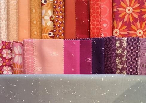 FIGO Midsommar fabric palette