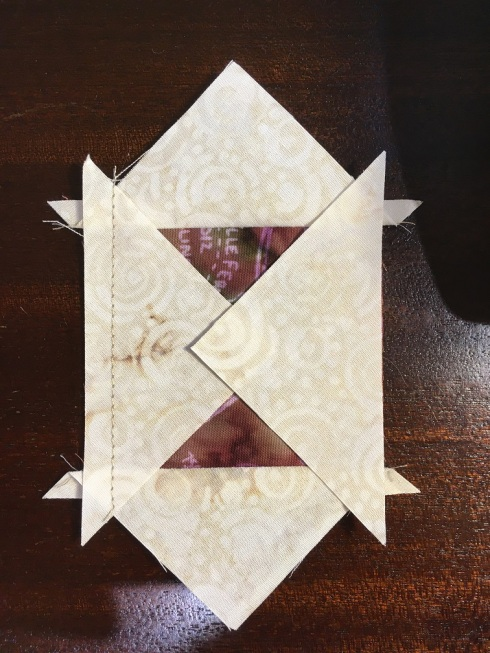 The overlapped part is square