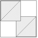 Sew-and-flip corners