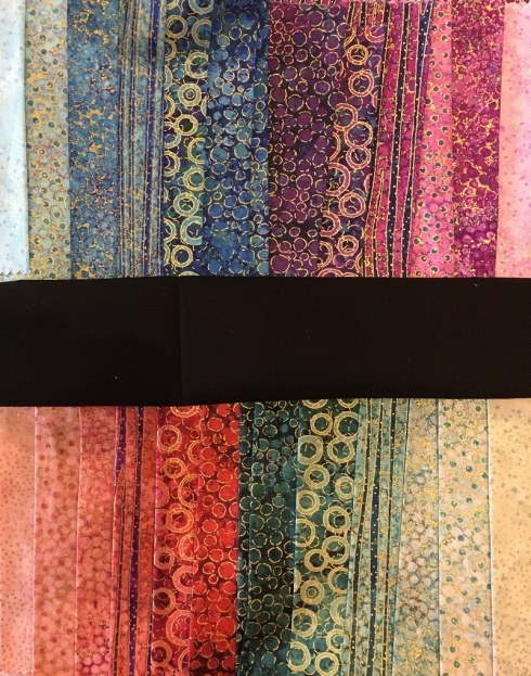 Shimmer fabric palette