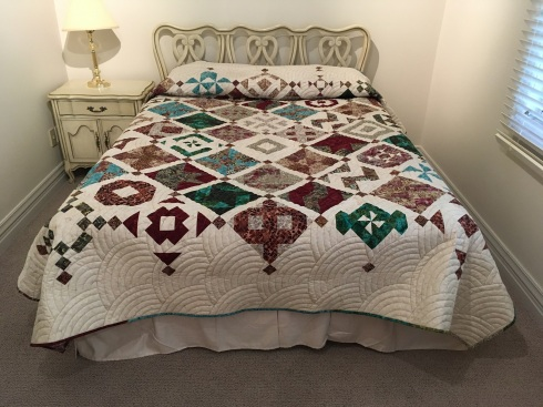 My Vino Time-to-Quilt found a home.