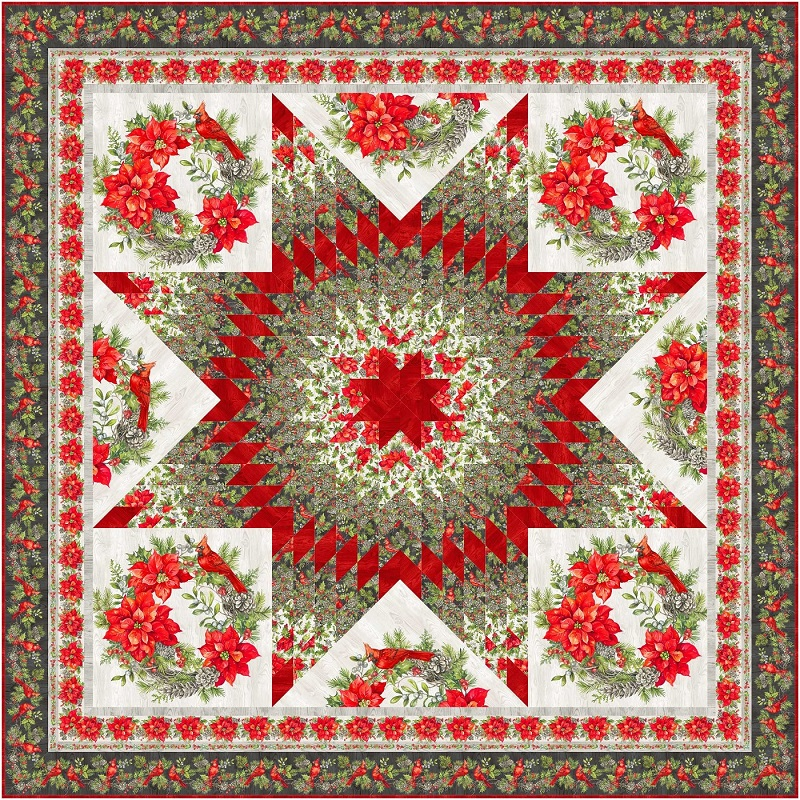 Grand Holiday Lone Star by Patti's Patchwork