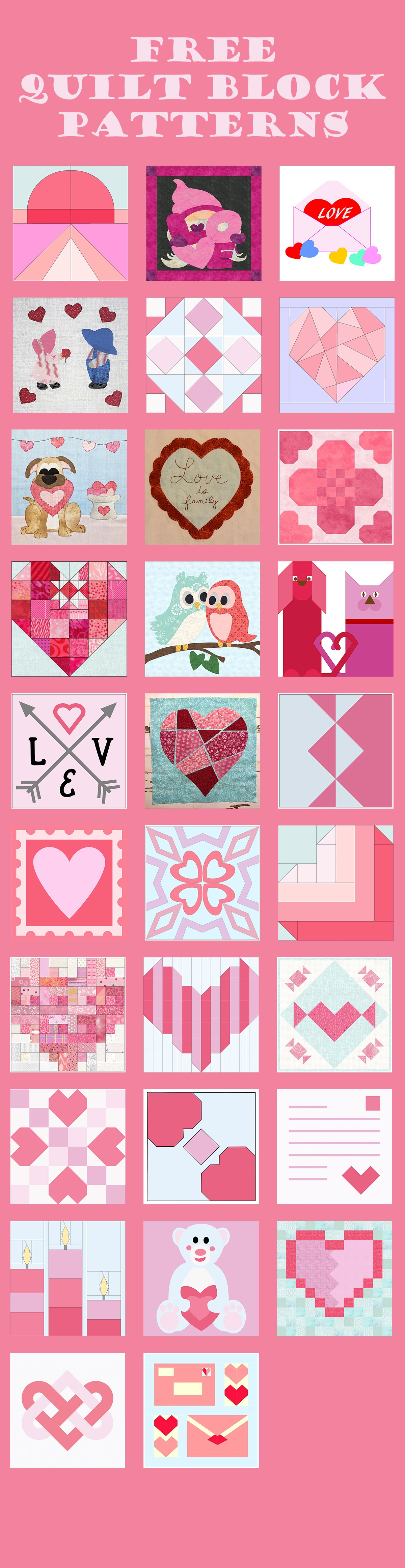 Quilt Block Mania January 2021 banner