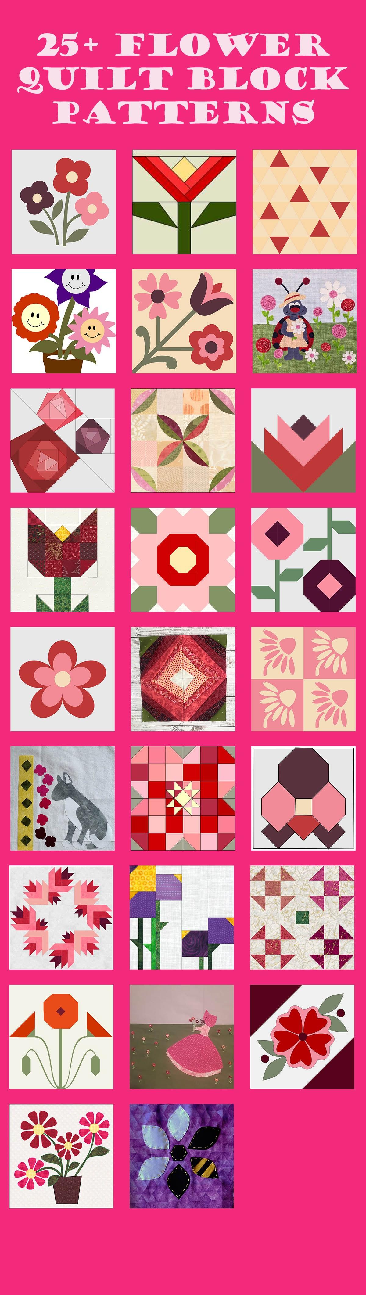 Flower Blocks banner
