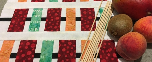 Kebabs block pattern by Patti's Patchwork