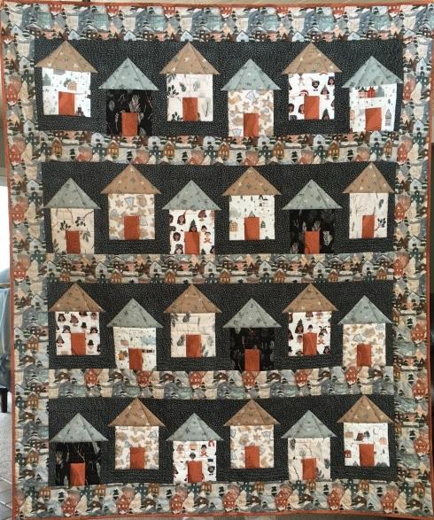 Ski Village quilt