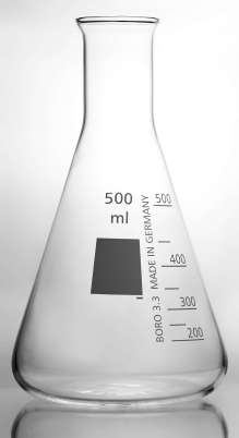 an Erlenmeyer flask